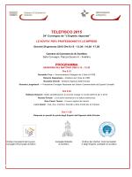 programma. - Camera di Commercio di Avellino