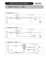 pH/ORP計システム構成