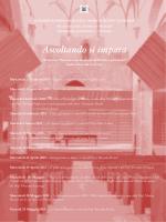 Ascoltando si impara 2015.pub - Conservatorio di Musica Arrigo Boito