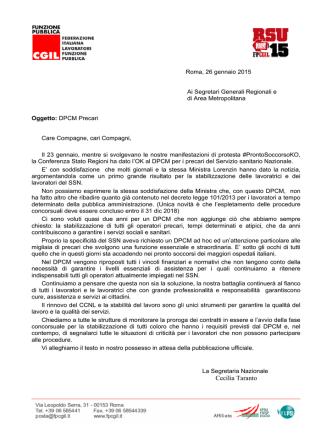 29/01/2015 DDPCM Precari