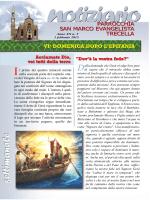 Notiziario 1 febbraio - Parrocchia S.Marco Evangelista