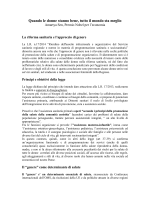 qui il documento integrale