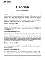 report esodati 2015