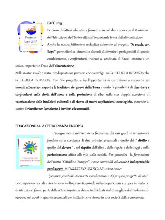 Attività didattiche - 17 Circolo Didattico Cagliari