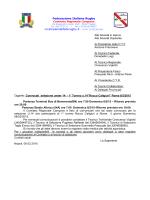 il testo completo - Comitato Regionale Campano