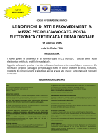 Programma - Fondazione Forense Firenze