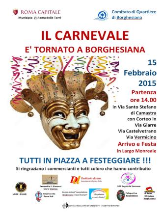 Carnevale 2015 Borghesiana