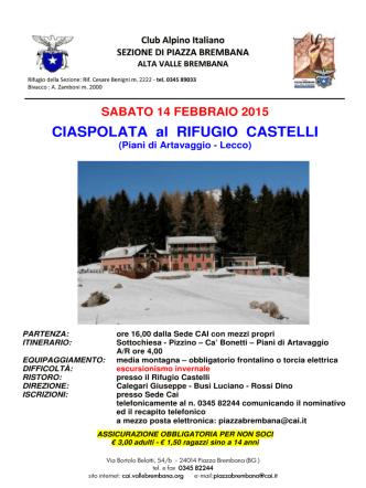 CIASPOLATA RIF. CASTELLI