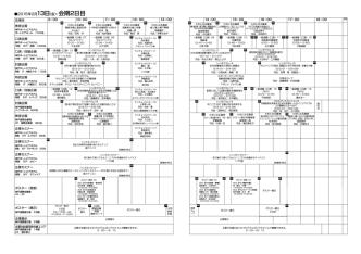2015年2月13日(金):会期2日目