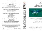 La flute enchantée Sabato 21 febbraio, ore 17:00 Luca Truffelli, flauto