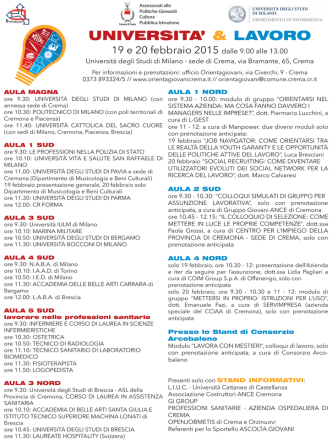 A4 programma