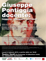 Giuseppe Pontiggia docente