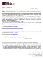 fondo mutui… - SBC Consulting