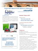Scarica Locandina Aquapol Ordine Ingegneri Pavia