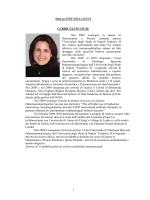 curriculum della dott.ssa Leuci - Centro Specialistico Odontoiatrico