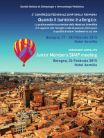 Quando il bambino è allergico: Junior Members SIAIP meeting