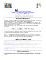 Comunicato 18 del 13/02/2015