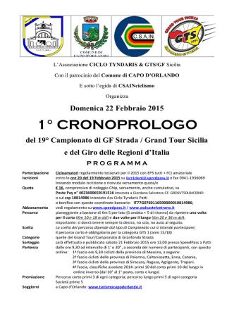010 Locandina cronoprologo