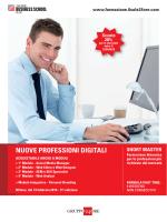 Scarica la Brochure - Il Sole 24 Ore Business School