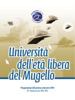 1 semestre 2015 - Comune di Borgo San Lorenzo