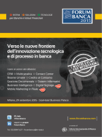 brochure - Forum Banca 2014