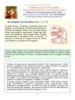 Avviso 2015.02.22 - Parrocchia Madonna di Rosa