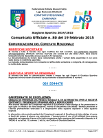 cu 80 2014-2015 - Comitato Regionale Campania