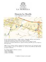 Piantina stampabile PDF - Antica Masseria La Morella