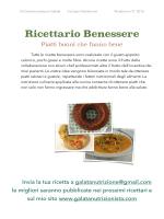 Ricettario Benessere n°2-2015