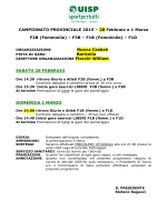 Programma 28 Febbraio - 1° Marzo
