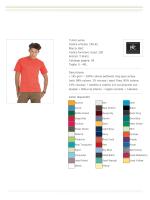 T-shirt uomo Codice articolo: 150.42 Marca: B&C