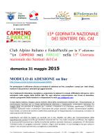 2015.02.17 articolo modulo adesione Cai