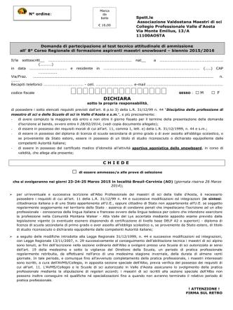 BIENNIO 2015-2016 PDF - Associazione Valdostana Maestri di Sci