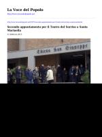 Secondo appuntamento per il Teatro del Sorriso a Santa Marinella