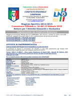 C.U. S.G.S. n. 36 del 19.02.2015