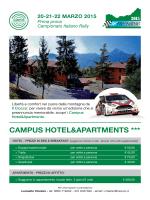 Convenzione CAMPUS Hotel&Apartments
