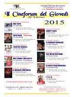 Programma - Cinema Teatro Salesiani LIVORNO