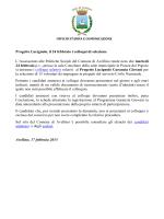 Progetto Lucignolo, il 24 febbraio i colloqui di selezione
