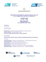 Programma Biella 2015