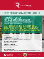 Convegno Fondazione Cariverona