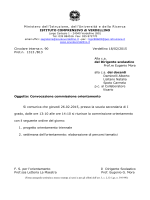 Circ.n.90 - conv. commissione orientamento