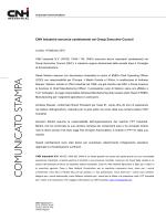 CNH Industrial annuncia cambiamenti nel Group Executive Council