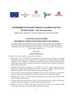 Capitolato Oneri Pacchetti Turistici (16.02.2015)