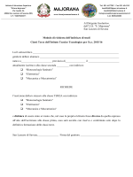 Modulo richiesta indirizzo classi terze 2015-16
