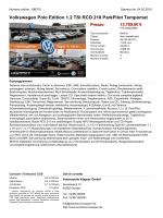 Volkswagen Polo Lounge 1.0 BMT Prezzo