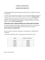 leggi qui la comunicazione - Istituto Sabatino Minucci