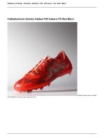 Fußballschuhe Schuhe Adidas F50 Adizero FG Red