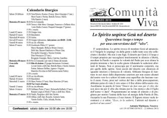 Comunità Viva - Parrocchia di S. Maria Assunta in Salboro