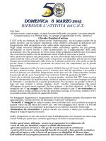 DOMENICA 8 MARZO 2015 - Circolo Nautico Torino