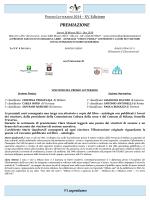 PREMIAZIONE - Sito Ufficiale del Centro Culturale Antonianum